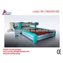 YMA4-3625B CNC-vier Kanten doppelt Brücken Glas Schleifmaschine für gehärtetes Glas, folgen