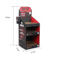 Apex Recycleable 3 Tier Cardboard Display Black