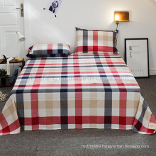 Home Textile Cotton Twin XL Size Sheet Set High Quality for Bedding Set