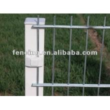 6/5 / 6mm & 8/6 / 8mm de revêtement de PVC ou Gal. Double barrière de fil (usine)