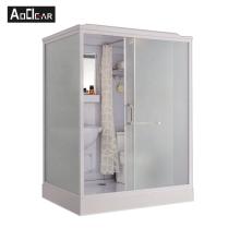 Aokeliya acrylic all in one shower room bathroom rectangular prefab shower cubicles