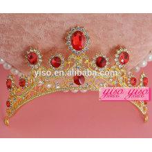 Dekorative Könige und Königin Weihnachten Hochzeit Kamm Tiara