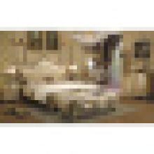 Ensemble de meubles en bois pour meubles de chambre en bois (A06)