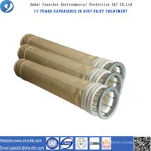 Aramid-Staub-Kollektor-Filtertüte für Asphalt-Mischanlage