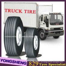Pneu, pneu de caminhão, pneu de caminhão radial