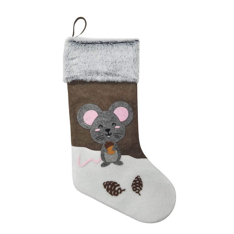 Mouse christmas stocking