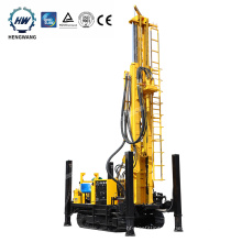 High quality HQZ260 deep pneumatic water well drilling rig for sale