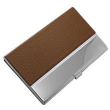 Популярные кожаные и металлические визитки для бизнес-подарков