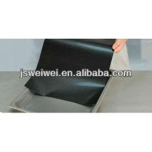 feuille de cuisson en maille PTFE tissu noir feuille de support