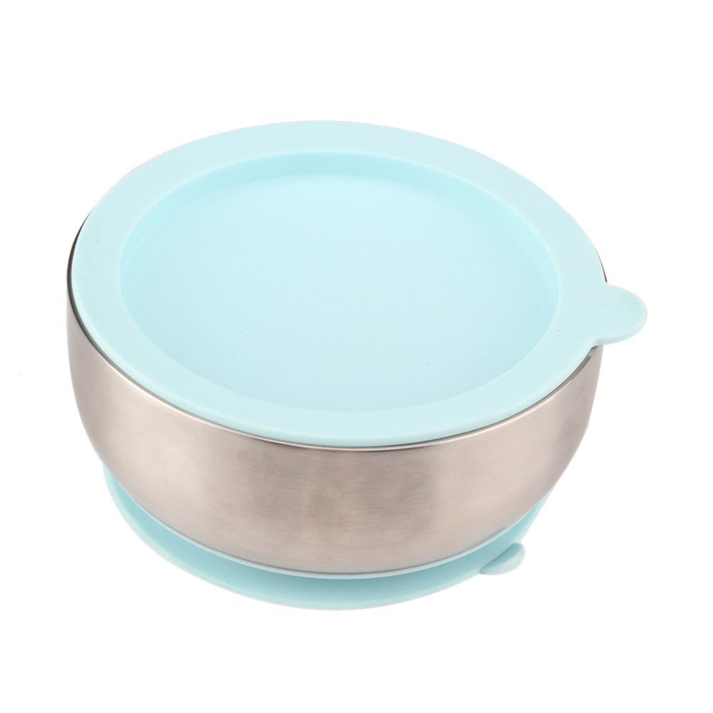Double Wall Stainless Steel Baby Bowl
