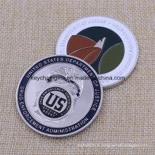 Monnaies personnalisées de haute qualité Custom Metal Military