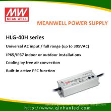 Conductor de Meanwell de la fuente de alimentación de IP65 40W LED