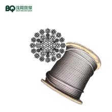 Cable de acero de 35W7-16mm para grúa torre de 12-14t