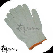 SRSafety 7 Gauge Polycotton Liner Glove, Дешевые белые хлопчатобумажные перчатки