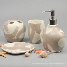 Juego de baño de cerámica personalizado de alta calidad