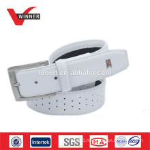 2014 white mens golf belts