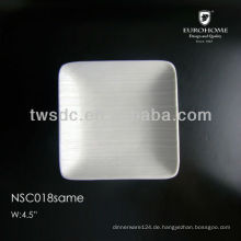 Strong banquet porcelain hotel plates yiwu