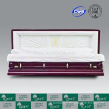 LUXES Beerdigung Service Langlebigkeit-Dragon chinesische Design-Schatulle mit Sarg Bestpreis