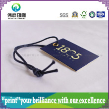 High Quality Paper Printing Hang Tag (Rope, Small)
