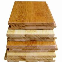 Carbonisierter horizontaler fester Bambusbodenbelag-UVlack