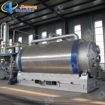 Utiliza la máquina de pirólisis de caucho para aceite