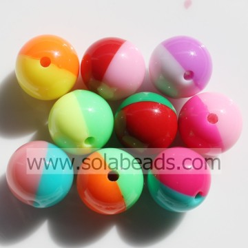 Winter 12mm Colors Round Gumball Tiny beads