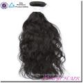 Cabello Humano Indio de la fábrica del pelo humano del 100 por ciento 8A buena calidad