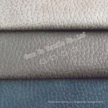 Poliéster em relevo a cortina de veludo camurça / tecido sofá (G69-36)