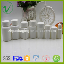 HDPE food grade round empty medicine plastic bottle for healthy