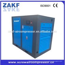 Alta calidad 75KW 100HP maquinaria de bajo costo de compresor de aire