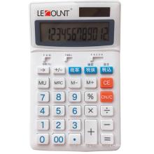 Calculateur de taxe japonais de 12 chiffres avec barre de sélection de facturation optionnelle de 8% / 10% (LC227T-JP)