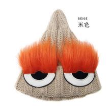 Bonnet tricoté en tricot pour femme (3D)
