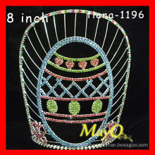 2015 Large tall colored egg pageant crown