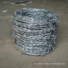 Galvanized Double Twist Barbed Wire