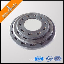 prestressed pipe pile end plate flange
