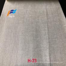 Nueva tela de cortina de ventana barata teñida de color blanco