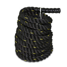 "40 FT x 1.5"" Beginner Battle Rope Exercise Workout Strength Training Undulation"