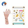 Tatouages Temporaires Or Métalliques Body Arts Choker Flash Tatouages Autocollant