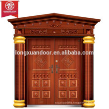 Factory Custom Exterior Doors, Double Swing Bronze Door