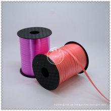 Neueste angepasste Großhandel gewebte Curling Ribbon