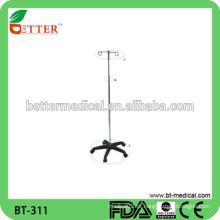 Suporte de infusão de hospital tipo IV Pole stand