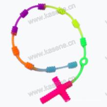 Pulseira de moda pulseira de borracha pulseira de silicone