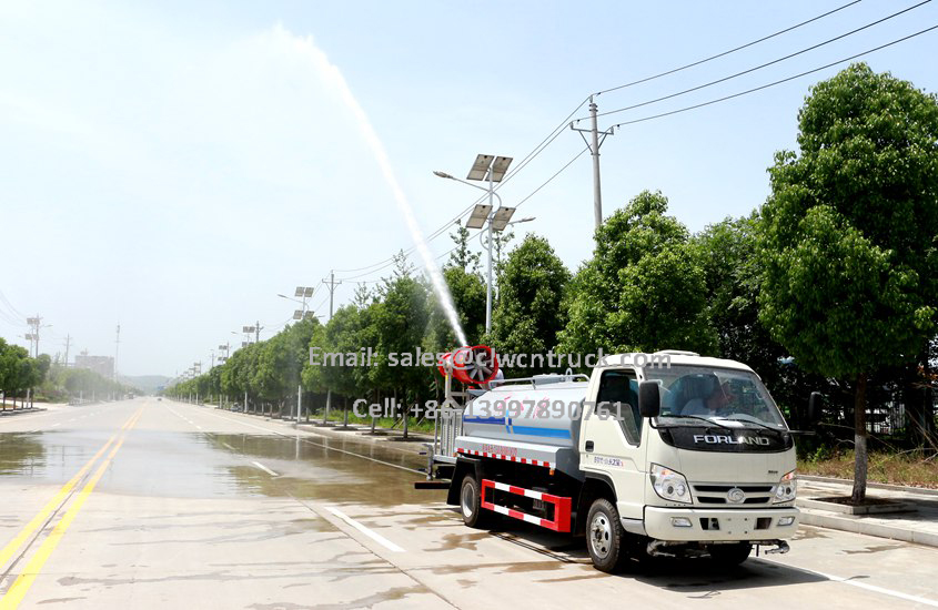 insecticide spray truck supplier