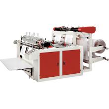Máquina de sellado de calor y corte de chaleco que hace la máquina