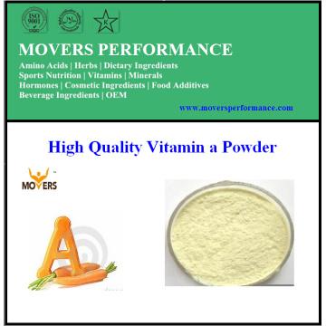 Fábrica de alta qualidade de vitamina a