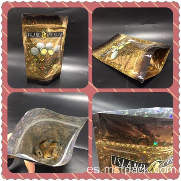 Bling Stand Up Pouch para dulces / chocolates