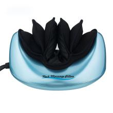 oreiller de masseur de chaleur de vibrateur de pression d'air