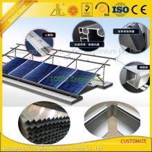 Quadro de alumínio personalizado do perfil do painel solar com superfície da oxidação anódica
