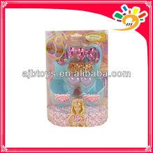 Art- und Weiseentwurfs-Spielzeug-Schuh für Kinder-Heiße Verkaufsplastikprinzessinschuhe