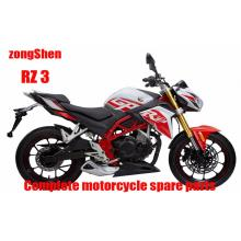 Zongshen RZ3 Complete Motorcycle Spare Parts